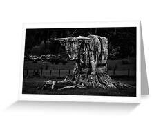 Mother Nature, Rise Up and Fight Back Greeting Card