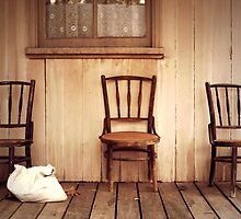 We Three Chairs by yolanda