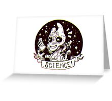 Science!!! Greeting Card