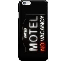 Bates Motel - Neon Sign - iPhone Case iPhone Case/Skin