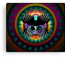 Peyote Dreams - The Psychedelic Cat Canvas Print