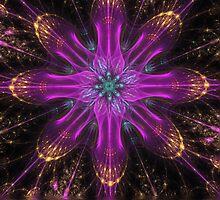 Purple Light by Pam Amos