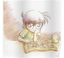 Detective Conan: Reading Comic Detective Conan Poster