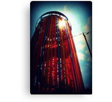 Ribbon Tower. Canvas Print