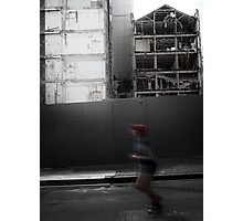 Running to Oblivion Photographic Print