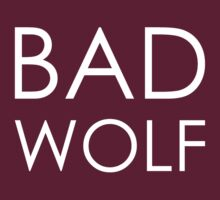 Bad Wolf Dark by Derrick Burgess