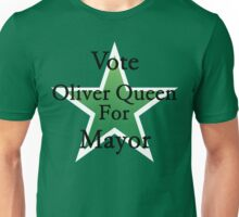 Vote Oliver Queen for Mayor of Star City Unisex T-Shirt