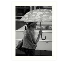 It's Raining #2 Art Print