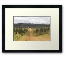 Ft Hamlin Hills Creek Framed Print