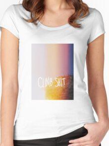 climb... stuff Women's Fitted Scoop T-Shirt