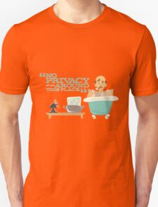 "Walt Disney World - Carousel of Progress - Uncle Orville - ""No Privacy!"" T-Shirt"