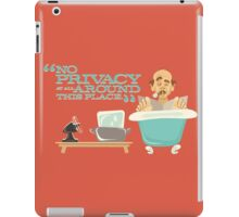 "Walt Disney World - Carousel of Progress - Uncle Orville - ""No Privacy!"" iPad Case/Skin"
