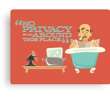 "Walt Disney World - Carousel of Progress - Uncle Orville - ""No Privacy!"" Canvas Print"