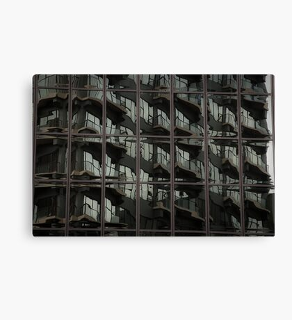 Fractured Apartments Canvas Print