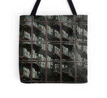 Fractured Apartments Tote Bag
