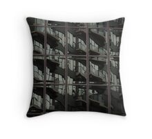 Fractured Apartments Throw Pillow