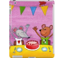Mouse & Bear Party iPad Case/Skin