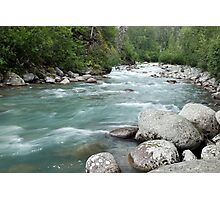 The Little Susitna Photographic Print
