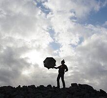 Silhouette On Stone by danbullock