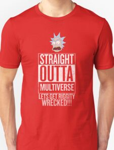 Straight Outta Multiverse Unisex T-Shirt