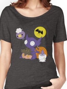 Pokemon Halloween - unshaded version Women's Relaxed Fit T-Shirt