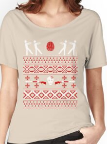 Zombie Christmas Shirt Women's Relaxed Fit T-Shirt