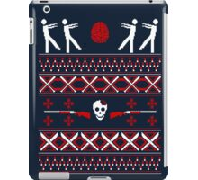 Zombie Christmas Shirt iPad Case/Skin
