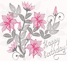 Happy Birthday by Nataliia-Ku