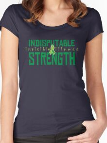 Indisputable Strength Women's Fitted Scoop T-Shirt