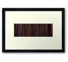 Moviebarcode: Dick Tracy (1990) Framed Print
