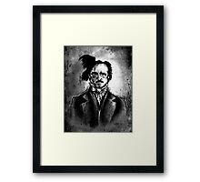 I am the Raven - Edgar Allen Poe Framed Print