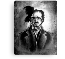 I am the Raven - Edgar Allen Poe Metal Print