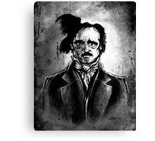 I am the Raven - Edgar Allen Poe Canvas Print