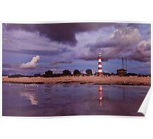 Geraldton Lighthouse ~ Separation Point ~ Geraldton WA Poster