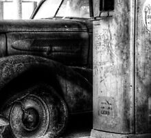 Old Abandoned Car 04 by Dominic Luxton