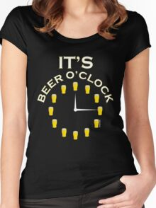 It's Beer O'clock Women's Fitted Scoop T-Shirt