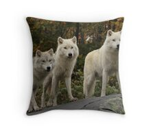 The guardians of the pack Throw Pillow