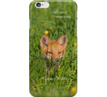 Be Vewy Vewy Kwiet... IPone case iPhone Case/Skin