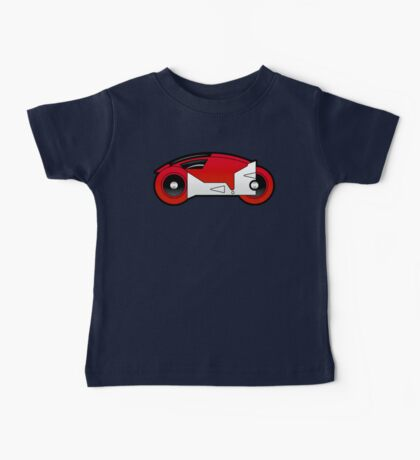 TRON Classic Lightcycle (Red) Baby Tee