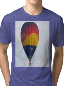Colorful Hot Air Balloon  Tri-blend T-Shirt