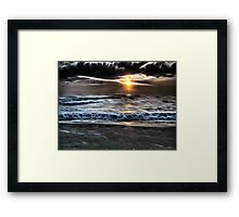 East of Reality West of A Dream Framed Print