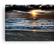 East of Reality West of A Dream Canvas Print