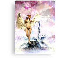 Earth Angel - Water of Life Canvas Print