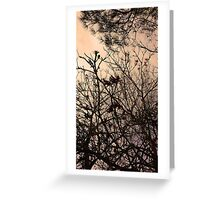 Tangled up in you Greeting Card