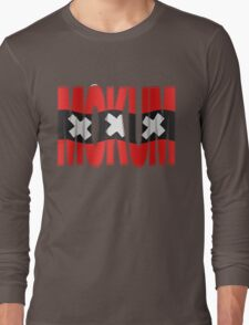 Mokum + Amsterdam vlag Long Sleeve T-Shirt