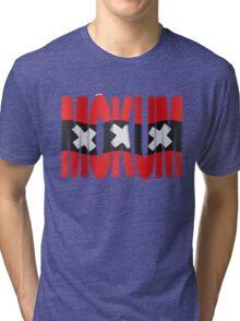 Mokum + Amsterdam vlag Tri-blend T-Shirt