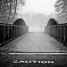 caution. by Jeff Stubblefield