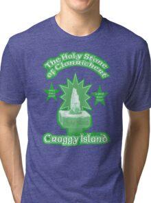 The Holy Stone of Clonrichert Tri-blend T-Shirt