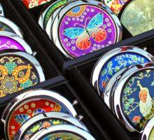 Compact mirrors Sticker