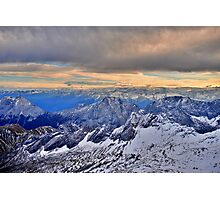 Mountain Alps Photographic Print